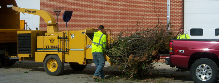 McHenry Township brush recycling