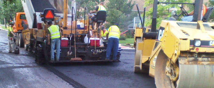 McHenry Township Road District paving